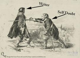 A Writer Faces Self-Doubt