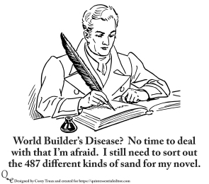World Builder's Disease Meme