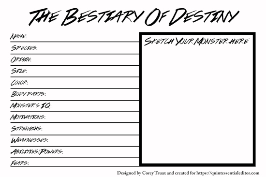 Bestiary of Destiny