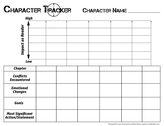 Character Arc Tracker