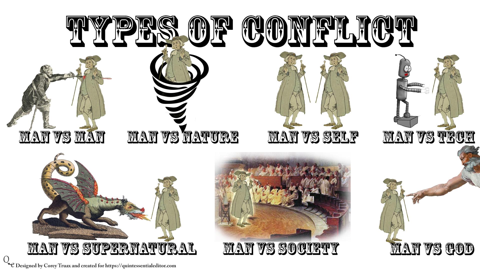 basic types of conflict « corey d. truax
